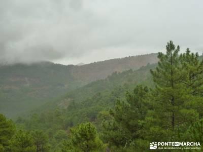 Valle de Iruelas - Pozo de nieve - Cerro de la Encinilla;senderos galicia senderos gran recorrido